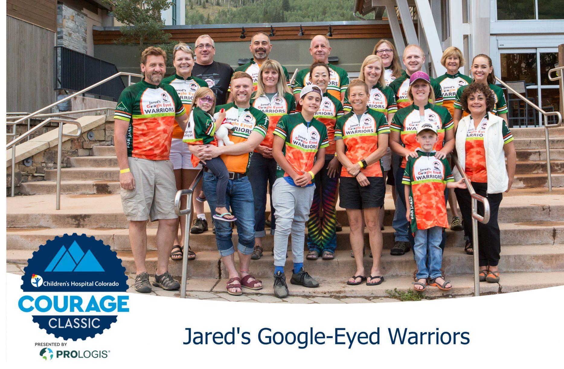 JARED'S GOOGLE EYED WARRIORS