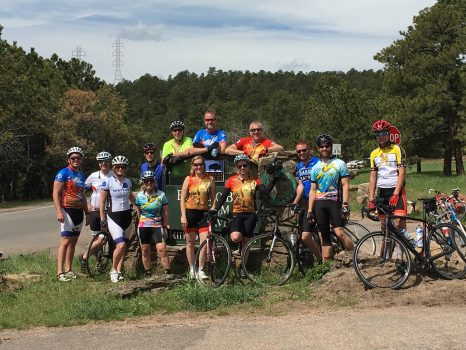 Top of Lookout Training Ride 2016